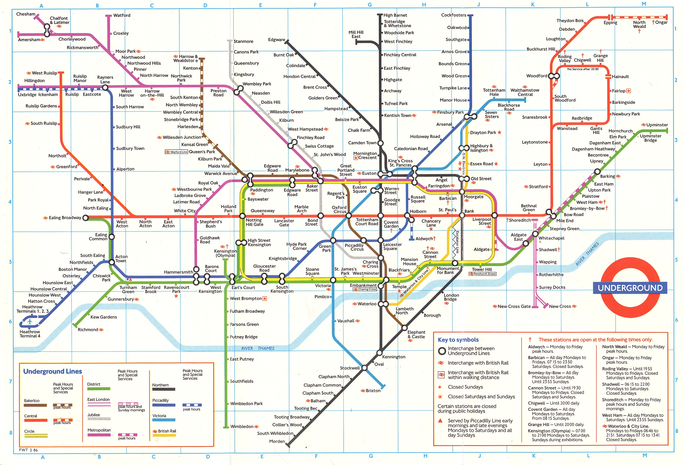 Claire Brewster Mind the Maps first completed commission – London Transport Tube Map