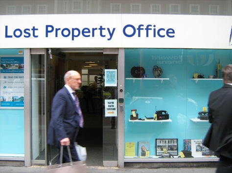Outside the Lost Property Office