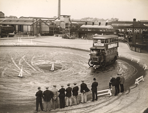Becoming a bus driver…100 years ago!