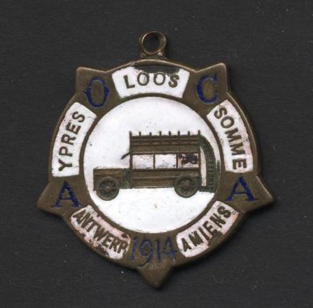 Auxiliary Omnibus Companies' Association medallion