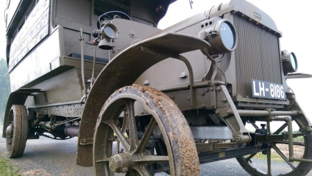 Battle Bus in the Somme, September 2014