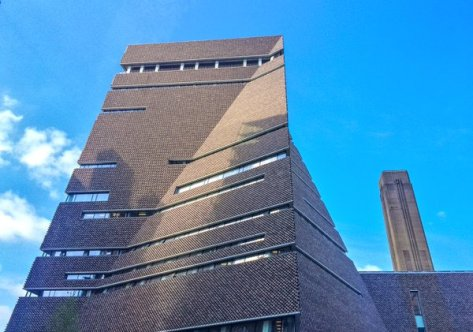 New extension of the Tate Modern. Pic: Tim Dunn
