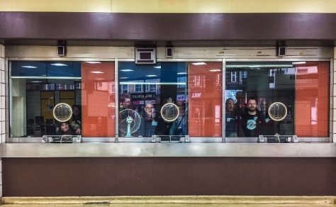 And finally - a number of District Dave Forum members in the old booking windows at King's Cross Thameslink. A reminder that our roaming about old transport infrastructure, like the infrastructure itself, is really about the people.