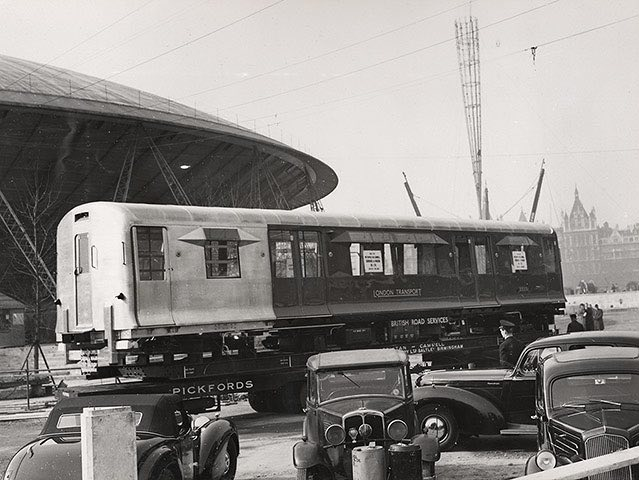 The 1951 Festival of Britain showcase of new London Transport R49 stock