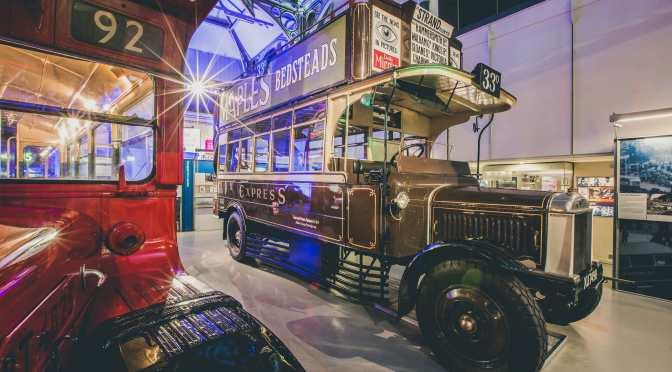 An original London pirate: 1924 LB5 Chocolate Express