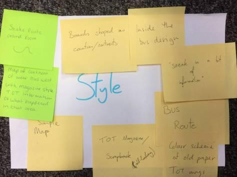 Style brainstorm