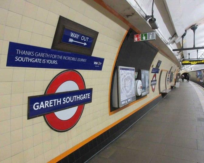 Gareth Southgate roundel