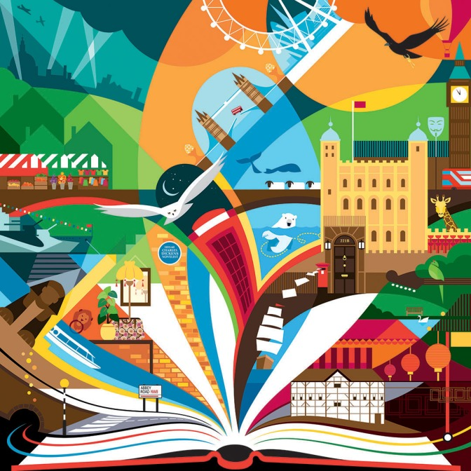 Poster Prize for Illustration – Bringing London stories to life