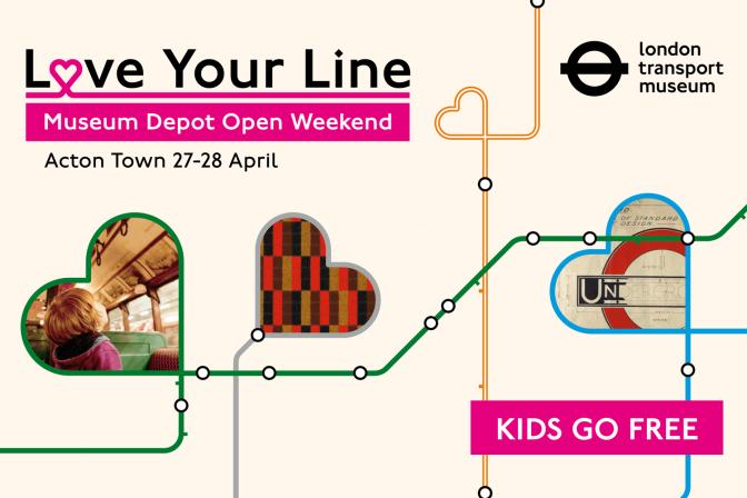 Love your line – Museum Depot Open Weekend