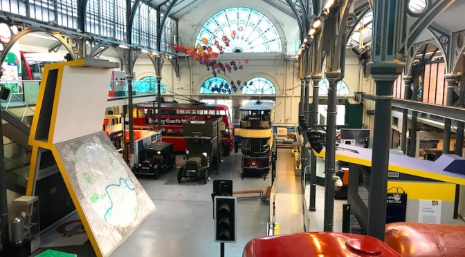 Welcome back to London Transport Museum